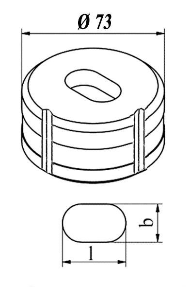 GEKA Oval matrice Nr. 10