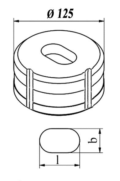 GEKA Oval matrice Nr. 13