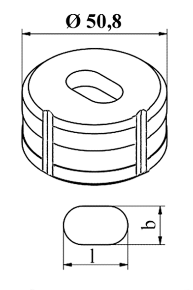 GEKA Oval matrice Nr. 5
