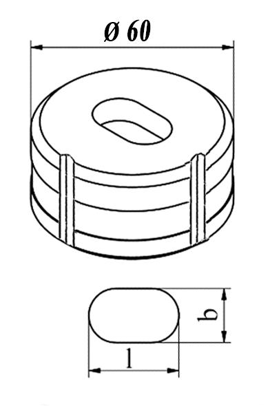 GEKA Oval matrice Nr. 8