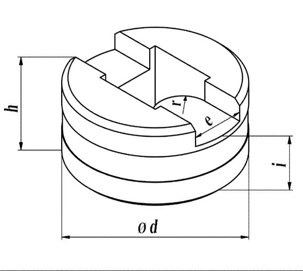 GEKA Separat afrundings matrice