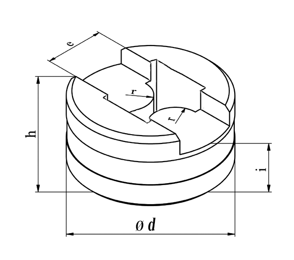 GEKA Separat radius matrice, dobbeltsidet