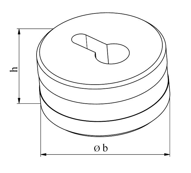 GEKA Nøglehul matrice
