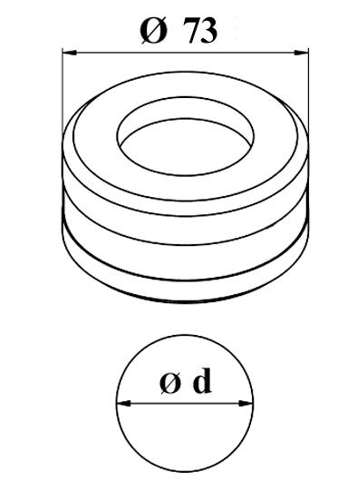 GEKA Rund matrice Nr. 10