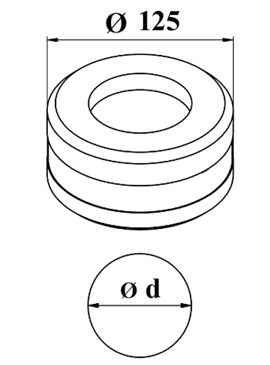 GEKA Rund matrice Nr. 13