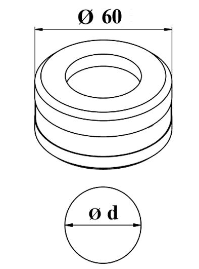 GEKA Rund matrice Nr. 8