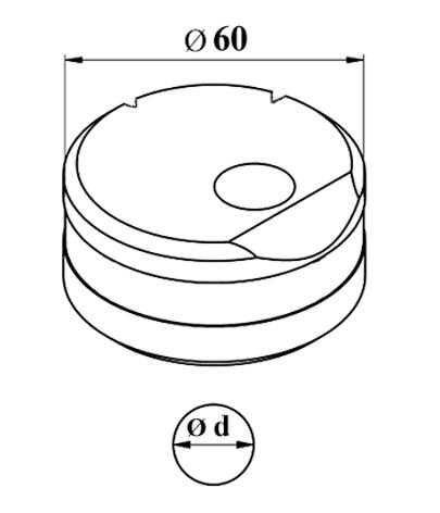 GEKA Vinkel matrice Nr. 8 E