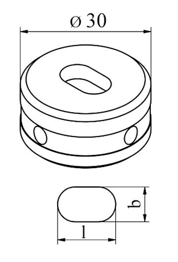 MUBEA Oval matrice Nr. 30