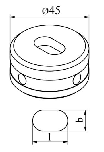 MUBEA Oval matrice Nr. 45