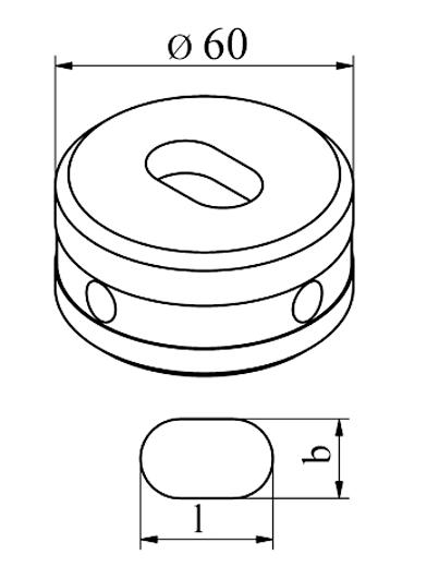 MUBEA Oval matrice Nr. 60