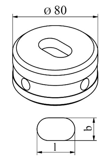 MUBEA Oval matrice Nr. 80