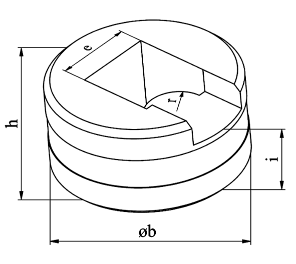 MUBEA Afrundings matrice