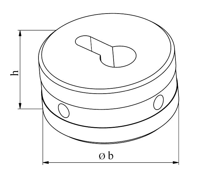 MUBEA nøglehuls matrice