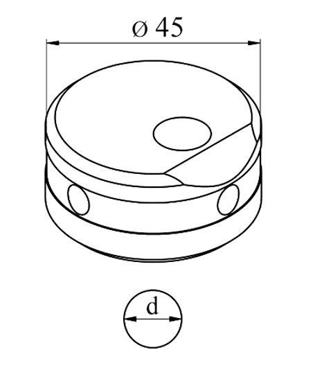 MUBEA Vinkel matrice Nr. 45 E
