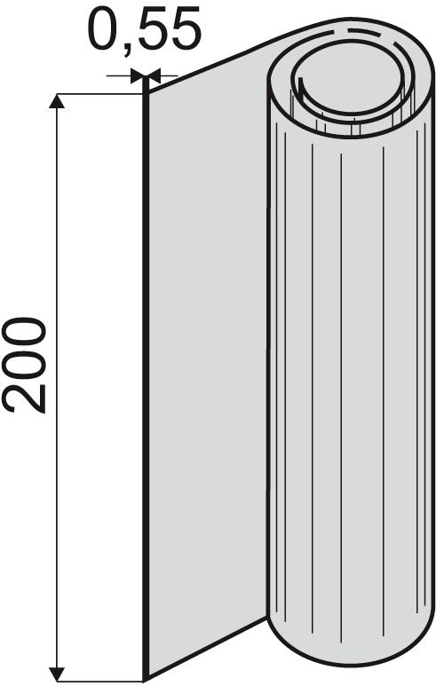 UKB VU-0,55x200