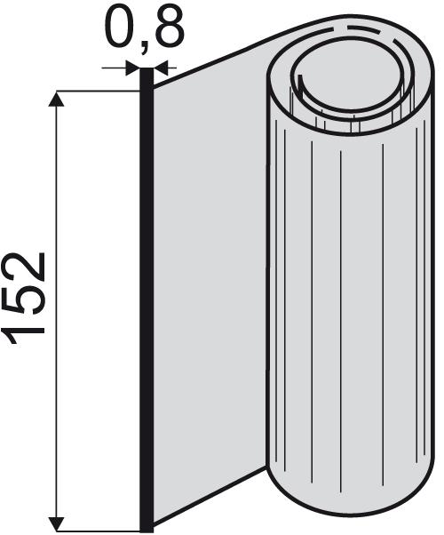 UKB VU-0,8x152